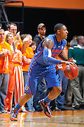 KNOXVILLE, TN - JANUARY 7: Bradley Beal #23 of the Florida Gators dribbles the ball against the Tennessee Volunteers at Thompson-Boling Arena on January 7, 2012 in Knoxville, Tennessee. Tennessee defeated Florida 67-56. (Photo by Joe Robbins) *** Local Caption *** Bradley Beal