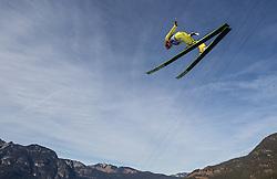 01.01.2014, Olympiaschanze, Garmisch Partenkirchen, GER, FIS Ski Sprung Weltcup, 62. Vierschanzentournee, Probesprung, im Bild Richard Freitag (GER) // Richard Freitag (GER) during Trial Jump of 62nd Four Hills Tournament of FIS Ski Jumping World Cup at the Olympiaschanze, Garmisch Partenkirchen, Germany on 2014/01/01. EXPA Pictures © 2014, PhotoCredit: EXPA/ JFK