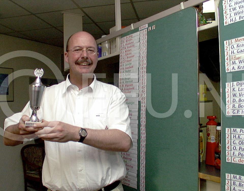 Fotografie Uijlenbroek©1999/Frank Uijlenbroek.990527 ommen ned.schaakkampioen Gosse van Elburg
