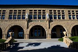 Jordan Hall, main quad, Stanford University, Stanford, California, United States of America