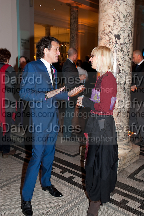 STEPHEN WEBSTER; VIRGINIA BATES, Cecil Beaton private view. V and A Museum. London. 6 February 2012