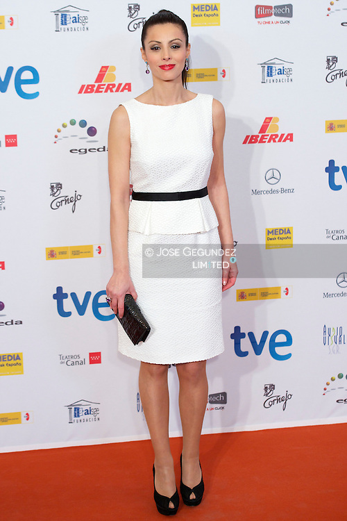 Ana Alvarez attends 'Jose Maria Forque' Cinema Awards Ceremony at Teatros del Canal on 22 January, 2013 in Madrid