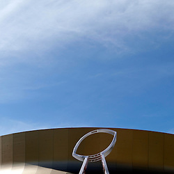 Feb 3, 2013; New Orleans, LA, USA; A general view of the stadium exterior before Super Bowl XLVII between the San Francisco 49ers and the Baltimore Ravens at the Mercedes-Benz Superdome. Mandatory Credit: Derick E. Hingle-USA TODAY Sports