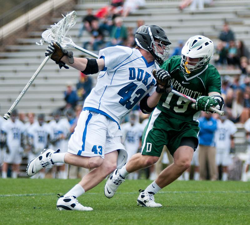 Duke defeats Dartmouth 18-10 at  Koskinen Stadium ,Durham NC.