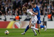 Rasmus Falk (FC København) og Serhiy Sydorchuk (Dynamo Kiev) under kampen i UEFA Europa League mellem FC København og Dynamo Kiev den 7. november 2019 i Telia Parken (Foto: Claus Birch).