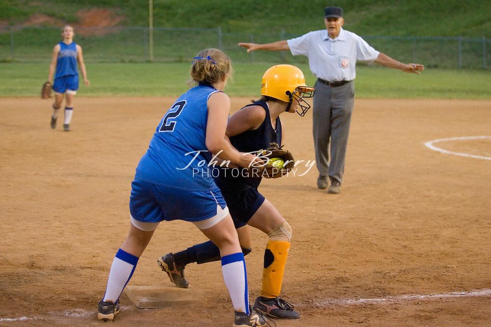 MCHS JV Softball.District Championship.vs Rappahannock.5/21/2007