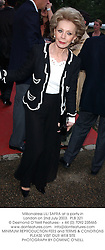 Millionairess LILI SAFRA at a party in London on 2nd July 2003. PLB 321