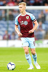 Ben Mee of Burnley - Mandatory by-line: Robbie Stephenson/JMP - 30/08/2018 - FOOTBALL - Turf Moor - Burnley, England - Burnley v Olympiakos - UEFA Europa League Play-offs second leg