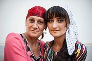 Mijgona and her mother. <br /> 18 year old Mijgona is the first fully cured MDR TB patient in MSF's TB program in Tajikistan. <br /> Dushanbe, Tajikistan, 2013