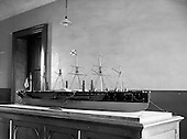"1959 - A model of the ship ""Great Eastern"" goes on display in Dun Laoghaire"
