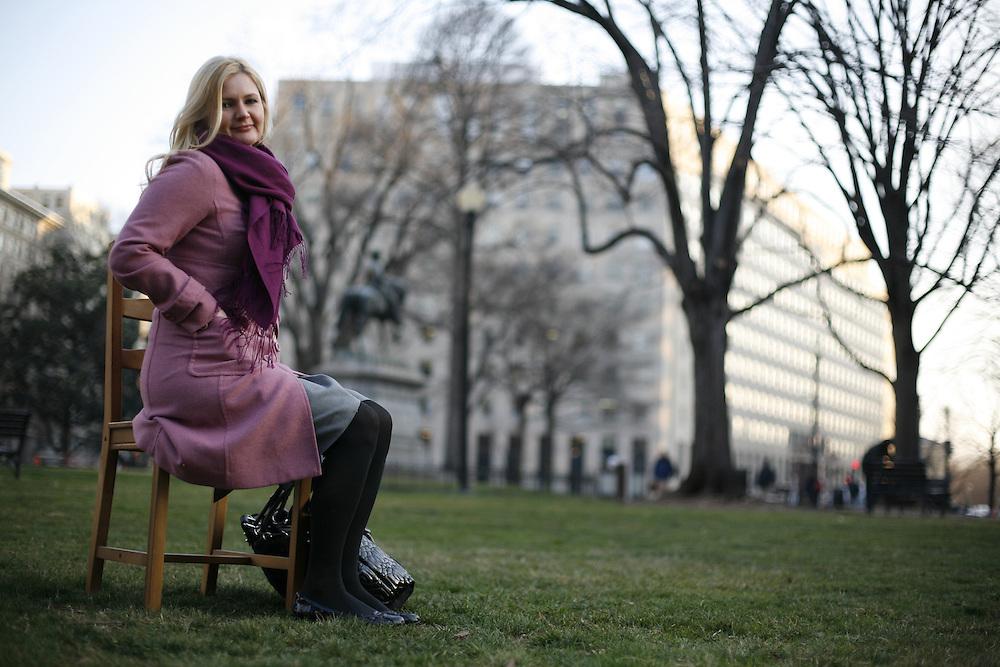 Washington, Feb. 25, 2008 - Jaclyn Walker, Arlington, Va., Advertising