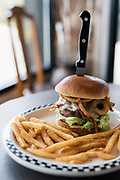 Bacon and Pepper Jack burger at Sonny's Kitchen in Oregon, Wisconsin, Monday, May 20, 2019.