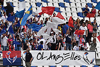 Lyon supporters <br /> Reggio Emilia 26-05-2016 <br /> Wolfsburg - Lyon <br /> Women's Champions League Final . Foto Andrea Staccioli / Insidefoto