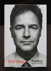 Nick Clegg Book Signing