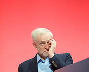 Labour Conference, Brighton, Great Britain <br /> 28th September 2015 <br /> <br /> Jeremy Corbyn MP <br /> <br /> <br /> Photograph by Elliott Franks <br /> Image licensed to Elliott Franks Photography Services