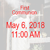 St Catherine 1st Communion 11AM 05-06-18