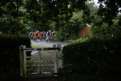 Ellen van Dijk (NED) leads the bunch during Stage 1 of 2019 OVO Women's Tour, a 157.6 km road race from Beccles to Stowmarket, United Kingdom on June 10, 2019. Photo by Sean Robinson/velofocus.com