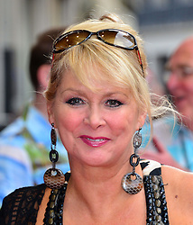 Bula Quo UK film premiere.  <br /> Cheryl Baker attends premiere of Status Quo action film featuring 12 of the rock band's classic tracks. Directed by former stunt co-ordinator Stuart St Paul, starring Jon Lovitz, Craig Fairbrass, Laura Aikman and the band members themselves. Released July 5. Odeon West End, London, United Kingdom.<br /> Monday, 1st July 2013<br /> Picture by Nils Jorgensen / i-Images