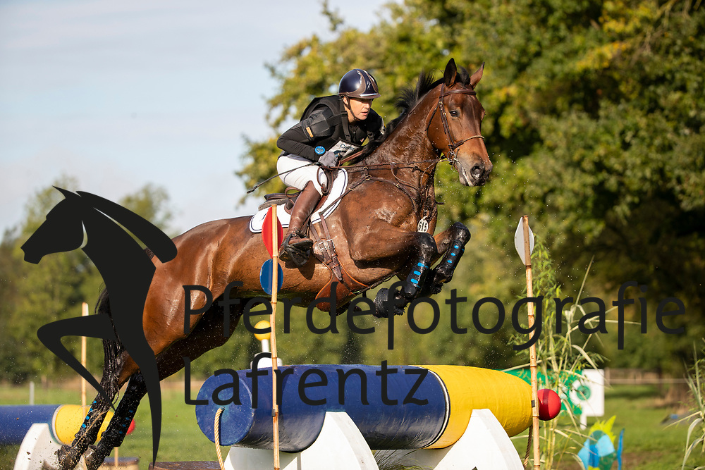 Caulier Virginie, BEL, Hobama de la Baille Rouge<br /> Le Lion d'Angers - Eventing World Breeding Championship 2019<br /> Teilprüfung Cross-Country 6 jährige<br /> 19. Oktober 2019<br /> © www.sportfotos-lafrentz.de/Dirk Caremans