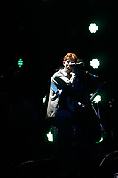 King Krule performing