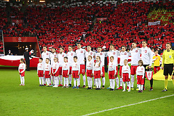 November 13, 2017 - Gdansk, Poland - Poland national football team during the international friendly soccer match between Poland and Mexico at the Energa Stadium in Gdansk, Poland on 13 November 2017  (Credit Image: © Mateusz Wlodarczyk/NurPhoto via ZUMA Press)