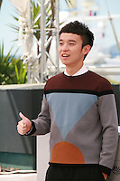 Actor Dong Zijang at the Mountains May Depart film photo call at the 68th Cannes Film Festival Tuesday May 20th 2015, Cannes, France.