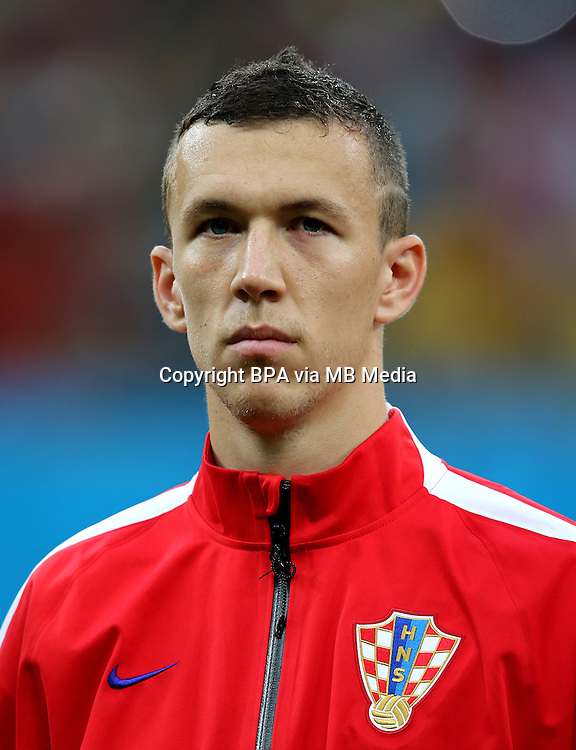 Uefa Euro FRANCE 2016 - <br /> Croatia National Team - <br /> Ivan Perisic