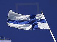 Finish flag, Sweden