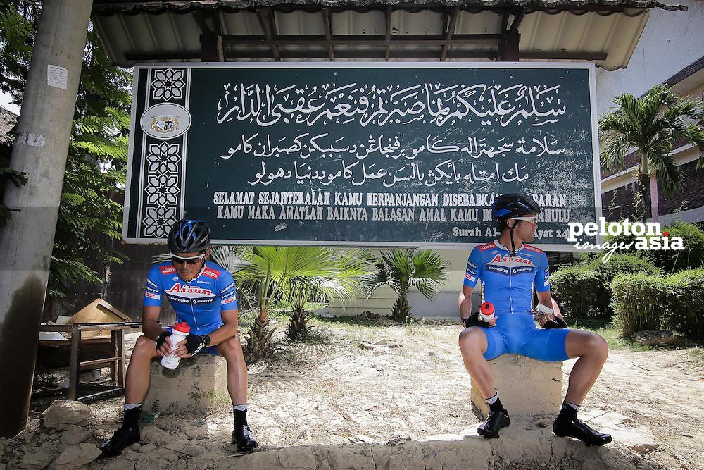 Le Tour de Langkawi 2015/ Stage3/ Kota Bharu to Kuala Berang/ 165.4 km/ Aisan