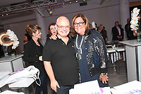 Mickey Boardman and Fern Mallis attend Klarna STYLE360 NYFW Hosts S by Serena Fashion Show