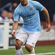 Pablo Zabaleta, Manchester City,  in action during the Manchester City V Chelsea friendly exhibition match at Yankee Stadium, The Bronx, New York. Manchester City won the match 5-3. New York. USA. 25th May 2012. Photo Tim Clayton