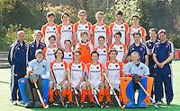 ZEIST- Teamfoto Nederlands Jongens B. FOTO KOEN SUYK