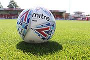 Balls  before the EFL Sky Bet League 2 match between Cheltenham Town and Swindon Town at Jonny Rocks Stadium, Cheltenham, England on 24 August 2019.