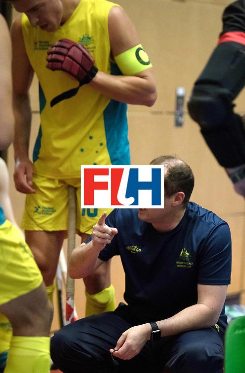 BERLIN - Indoor Hockey World Cup<br /> Trinidad &amp; Tobago - Australia<br /> foto: WILLER Steve<br /> WORLDSPORTPICS COPYRIGHT FRANK UIJLENBROEK