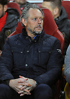 Football - 2019 / 2020 UEFA Champions League - Group F: Arsenal vs. Standard Liege<br /> <br /> Standard Liege manager, Michel Preud Homme, at The Emirates Stadium.<br /> <br /> COLORSPORT/ANDREW COWIE