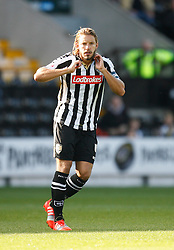 Alan Smith of Notts County - Mandatory byline: Jack Phillips / JMP - 07966386802 - 11/10/2015 - FOOTBALL - Meadow Lane - Nottingham, Nottinghamshire - Notts County v Plymouth Argyle - Sky Bet Championship
