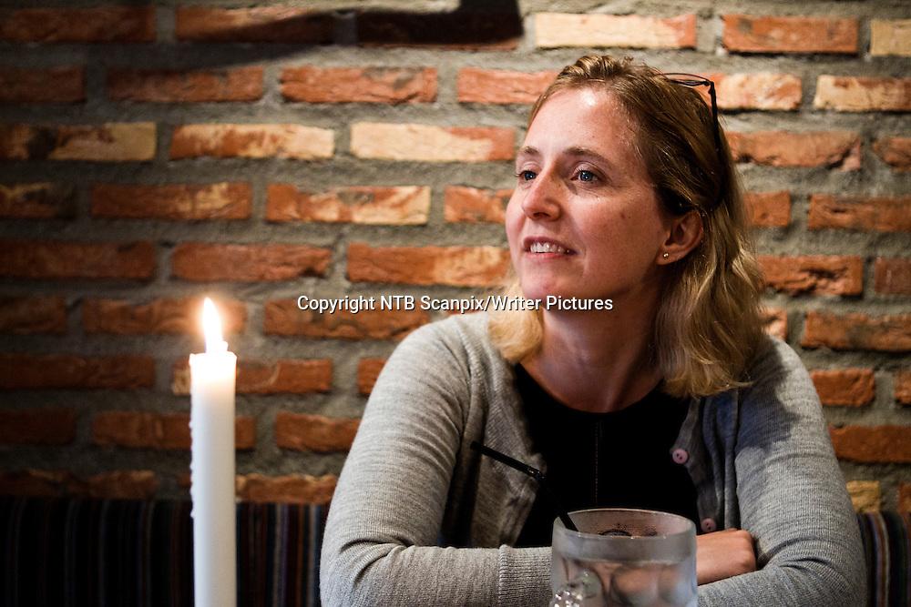 Oslo  20110905. Forfatter Hilde Hagerup lanserer en sp&macr;kelsesserie. &quot;Sp&macr;kelsene p&Acirc; Frost&macr;y&quot; som if&macr;lge forlaget viser en helt ny side ved hennes forfatterskap<br /> Foto: Berit Roald / Scanpix<br /> <br /> NTB Scanpix/Writer Pictures<br /> <br /> WORLD RIGHTS, DIRECT SALES ONLY, NO AGENCY
