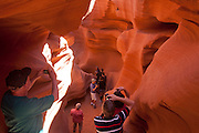 Lower Antelope Canyon, Slot Canyon. Page, AZ