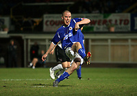 Photo: Rich Eaton.<br /> <br /> Hereford United v Leicester City. Carling Cup. 19/09/2006. Iain Hume of Leicester scoring from the penalty spot