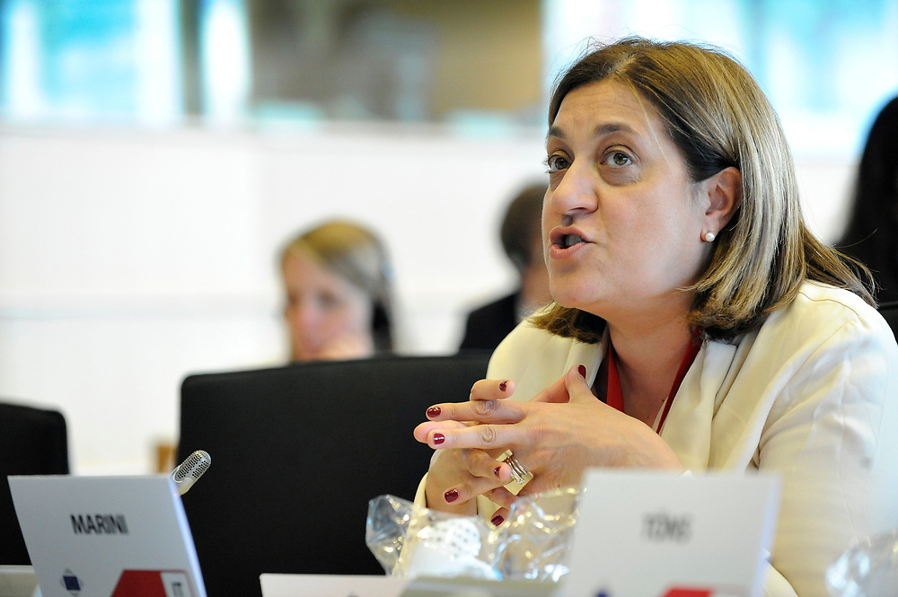 11 May 2017, 123rd Plenary Session of the European Committee of the Regions <br /> Belgium - Brussels - May 2017 <br /> MARINI	Catiuscia<br /> &copy; European Union / Fred Guerdin