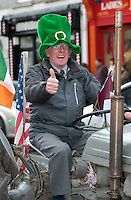18/03/2013  Participant  in the Gort St Patrick's Day Parade in South Galway. Picture:Andrew Downes.