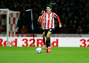 Brentford player Christian Norgaard looks for a player to pass to in the second half  during the EFL Sky Bet Championship match between Brentford and Nottingham Forest at Griffin Park, London, England on 28 January 2020.