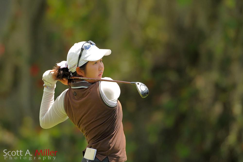 Hye-Min Kim during the final round of the Symetra Tour's Guardian Retirement Championship at Sara Bay in Sarasota, Florida April 28, 2013. ..©2013 Scott A. Miller