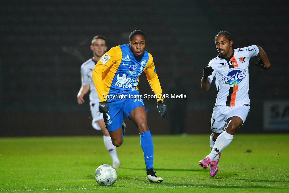 Bagaliy DABO / Wesley SAID - 23.01.2015 - Creteil / Laval - 21eme journee de Ligue 2<br /> Photo : Dave Winter / Icon Sport