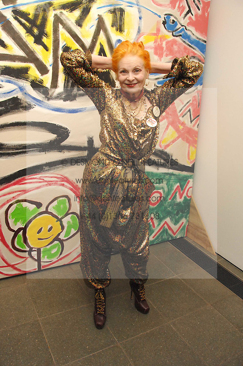 DAME VIVIENNE WESTWOOD at a party to celebrate the publication of Vivienne Westwood's Opus held at The Serpentine Gallery, Kensington Gardens, London W2 on 12th February 2008.<br /><br />NON EXCLUSIVE - WORLD RIGHTS