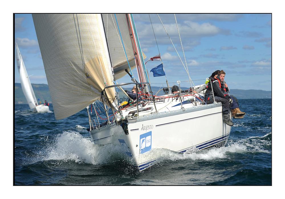 Brewin Dolphin Scottish Series 2012, Tarbert Loch Fyne - Yachting - Day 3 .. GBR5151C, Argento, Ken Andrew, CCC, Jeanneau Sunshine 38