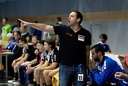 12.11.2016, BSFZ Suedstadt, Maria Enzersdorf, AUT, HLA, SG INSIGNIS Handball WESTWIEN vs Sparkasse Schwaz HANDBALL TIROL, Grunddurchgang, 12. Runde, im Bild Trainer Raul Alonso (Sparkasse Schwaz HANDBALL TIROL) // during Handball League Austria, 12 th round match between SG INSIGNIS Handball WESTWIEN and Sparkasse Schwaz HANDBALL TIROL at the BSFZ Suedstadt, Maria Enzersdorf, Austria on 2016/11/12, EXPA Pictures © 2016, PhotoCredit: EXPA/ Sebastian Pucher