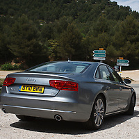 2010 Audi A8 TDi, A8 Launch Le Castellet France