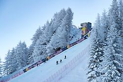 18.01.2017, Hahnenkamm, Kitzbühel, AUT, FIS Weltcup Ski Alpin, Kitzbuehel, Abfahrt, Herren, 2. Training, Streckenbesichtigung, im Bild Mausefalle // Mausefalle during the course inspection for the 2nd practice run of men's Downhill of FIS Ski Alpine World Cup at the Hahnenkamm in Kitzbühel, Austria on 2017/01/18. EXPA Pictures © 2017, PhotoCredit: EXPA/ Johann Groder