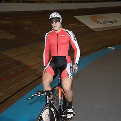 28-12-2014: Wielrennen: NK Baanwielrennen: Apeldoorn<br />Jeffrey Hoogland (Nijverdal) pakt de titel op de kilometer